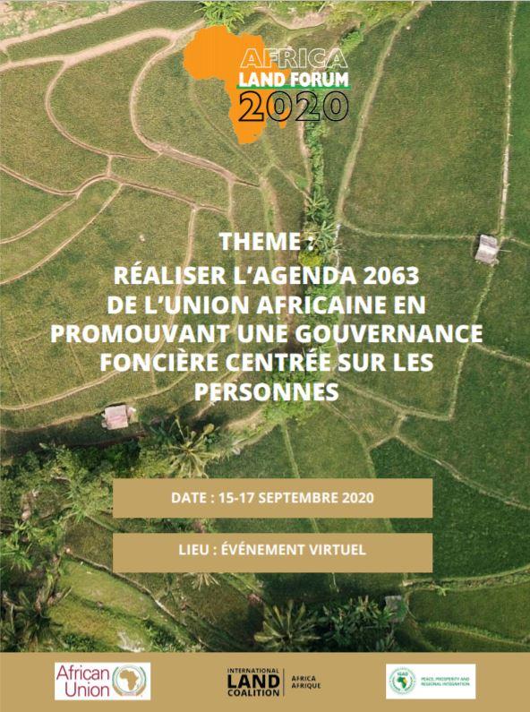 Le Forum Foncier Africain –   L'inscription est ouverte