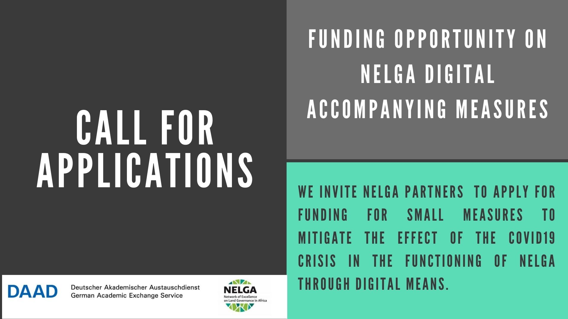 Call for Funding Applications: NELGA Digital Accompanying Measures