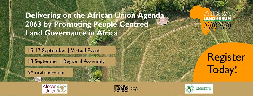 Registration is now OPEN: Africa Land Forum 2020