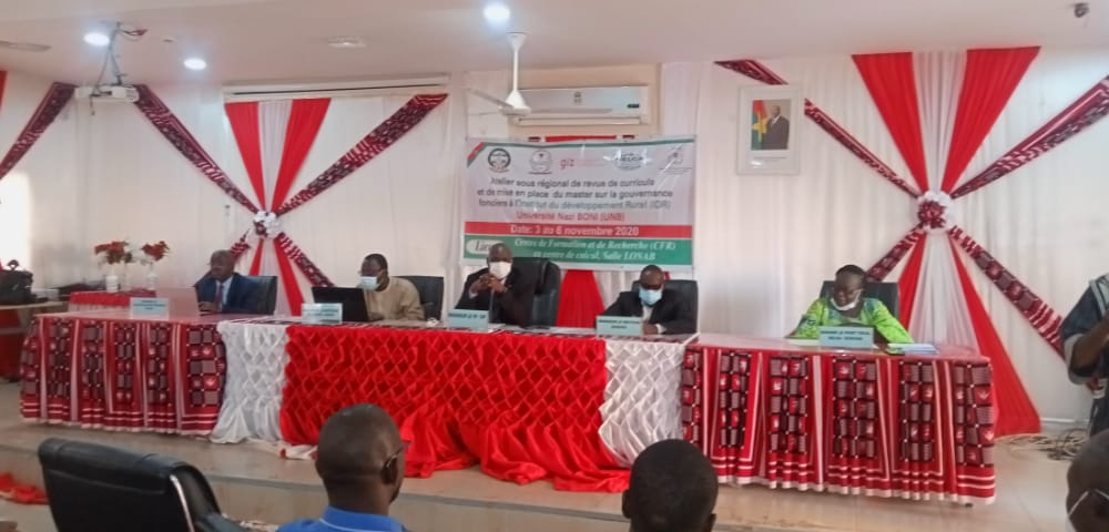Nazi-Boni University Takes Steps to Establish a Land Governance Master's Program