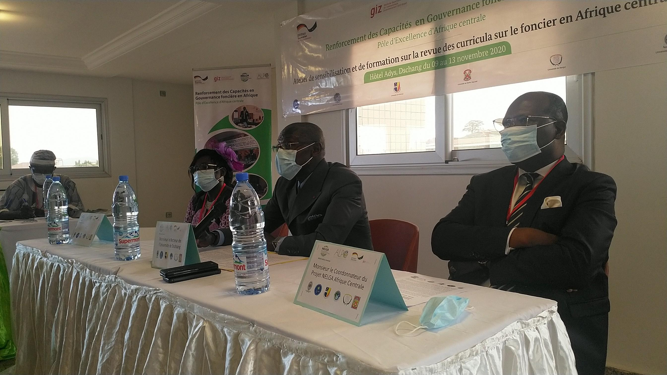 Leading Universities in Central Africa Host Sensitization Workshop on the Guidelines for Curricula Development on Land governance in Africa