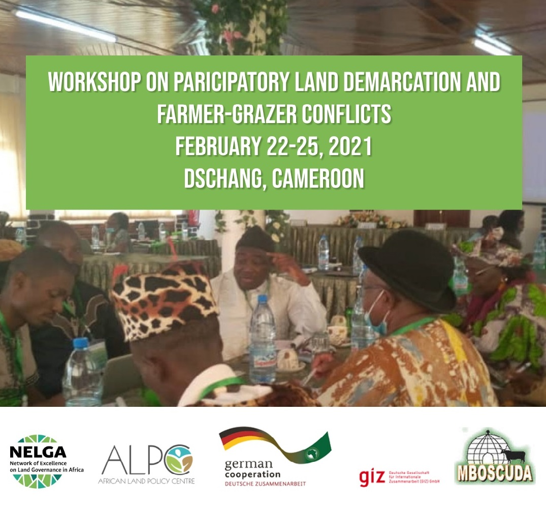 NELGA Announces Workshop to Address Land Demarcation and Farmer-Grazer Conflicts in Dschang, Cameroon