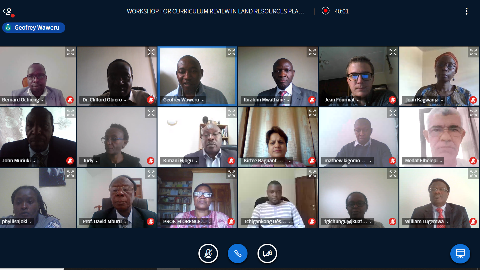 ALPC, JKUAT Launch Land Governance Curriculum Review Process in Kenya