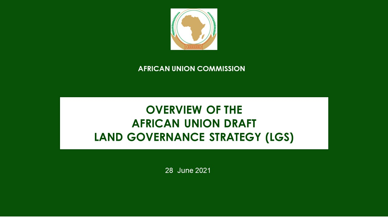 Stakeholder Consultations on the Draft Land Governance Strategy